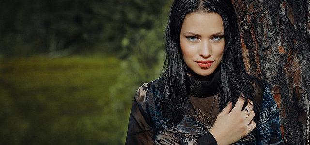 Татьяна Бенедюк. 2_я вице мисс Сургут 2014. Фотосессия на природе + backstage