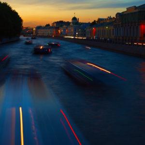 Вечерняя прогулка по Петербургу. Инженерный мост.